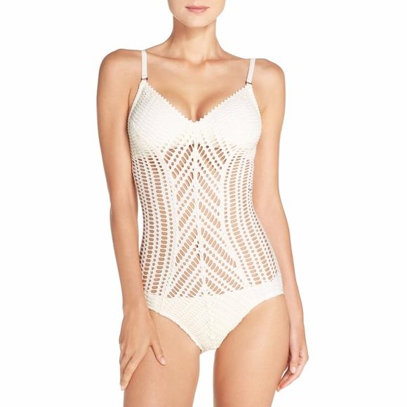 e800d2cdfa1 Robin Piccone Swim | Nwot Sophia Crochet 1pc Suit | Poshmark